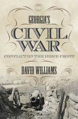 Georgia's Civil War: Conflict on the Home Front - State Narratives of the Civil War (Hardback)