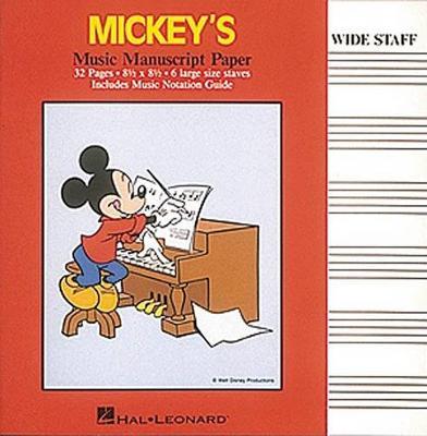 Mickey's Manuscript Paper (Paperback)