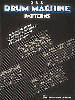260 Drum Machine Patterns (Paperback)