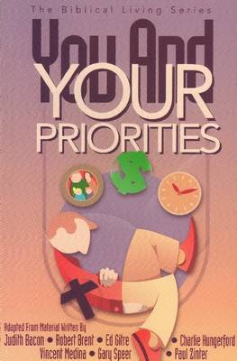 You & Your Priorities Student Guide (Paperback)