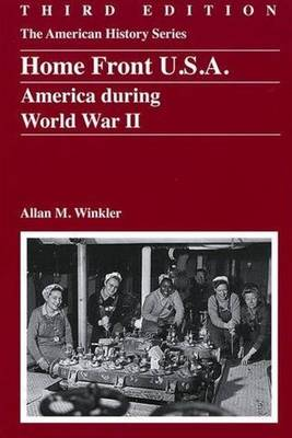 Home Front U.S.A.: America During World War II - The American History Series (Paperback)