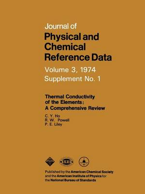 Thermal Conductivity of the Elements: A Comprehensive Review (Paperback)