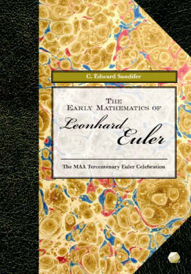 The Early Mathematics of Leonhard Euler - Spectrum (Hardback)