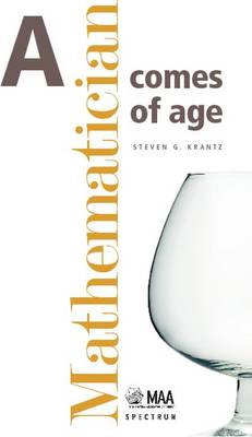 A Mathematician Comes of Age - Spectrum (Hardback)