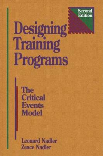 Designing Training Programs (Hardback)