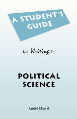 Student's Guide for Writing in Political Science (Paperback)