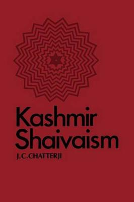 Kashmir Shaivaism - SUNY Series in Cultural Perspectives (Paperback)