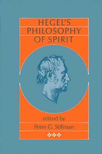 Hegel's Philosophy of Spirit - SUNY Series in Hegelian Studies (Paperback)