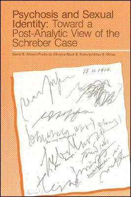 Psychosis and Sexual Identity: Toward a Post-Analytic View of the Schreber Case - SUNY series, Intersections: Philosophy and Critical Theory (Paperback)