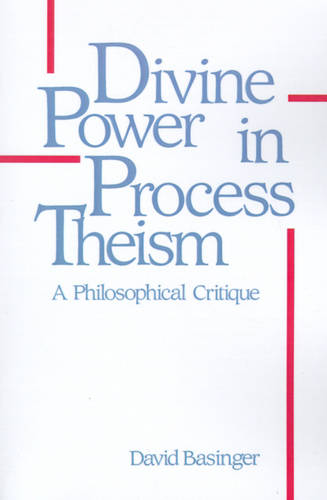 Divine Power in Process Theism: A Philosophical Critique - SUNY Series in Philosophy (Paperback)