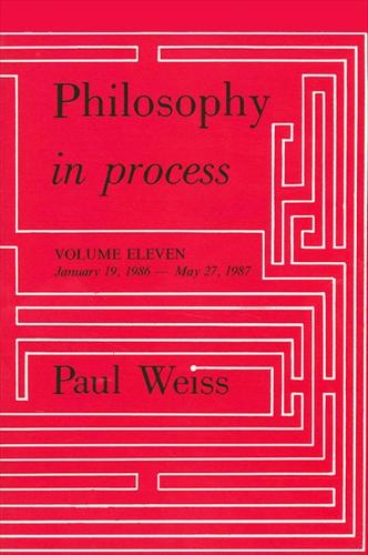 Philosophy in Process: Vol. 11 - SUNY Series in Philosophy (Paperback)