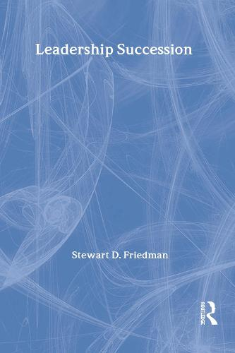 Leadership Succession (Hardback)