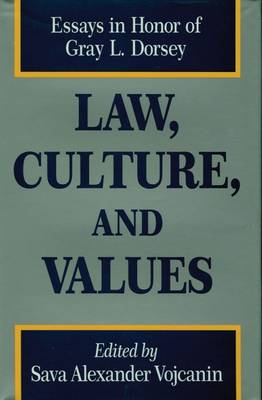 Law, Culture, and Values (Hardback)