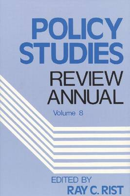 Policy Studies: Review Annual: Volume 8 (Paperback)