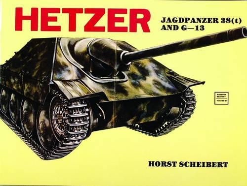 Hetzer: Jagdpanzer 38 (t) (Paperback)