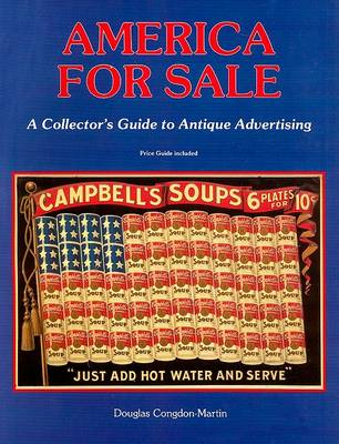 America for Sale: Antique Advertising (Paperback)