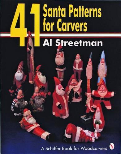 41 Santa Patterns for Woodcarvers (Paperback)