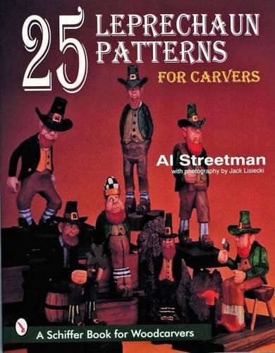 25 Leprechaun Patterns for Carvers (Paperback)