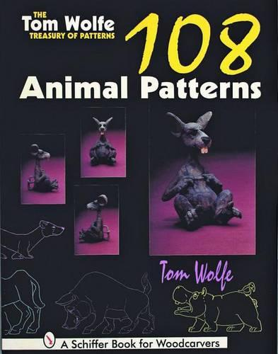The Tom Wolfe Treasury of Patterns: 108 Animal Patterns (Paperback)