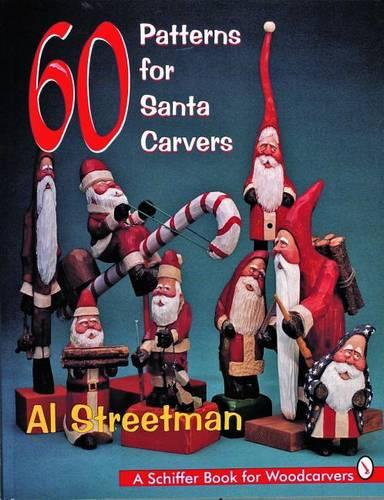 60 Patterns for Santa Carvers (Paperback)