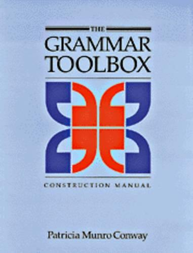 The Grammar Toolbox Construction Manual (Paperback)