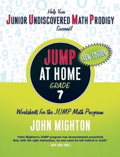 JUMP at Home Grade 7: Worksheets for the JUMP Math Program - JUMP at Home (Paperback)