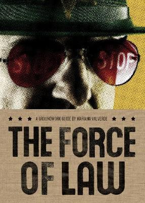 The Force of Law - Groundwork Guides (Paperback)