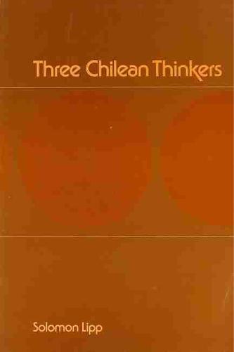 Three Chilean Thinkers: Bilbao, Letelier, Molina (Paperback)
