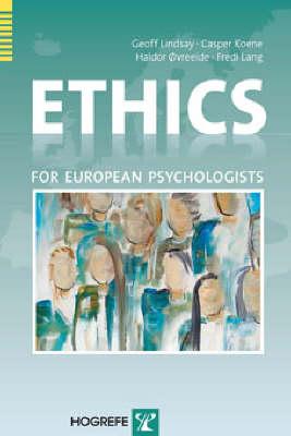 Ethics for European Psychologists (Paperback)