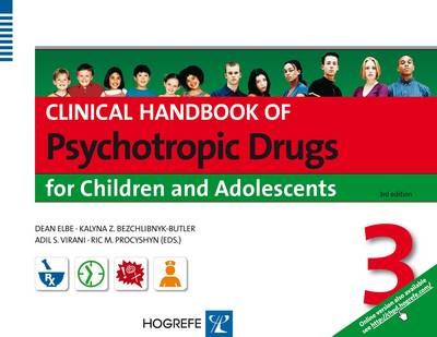 Clinical Handbook of Psychotropic Drugs for Children & Adolescents 2015 (Spiral bound)