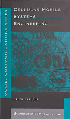 Cellular Mobile Systems Engineering - Mobile Communications Library (Hardback)