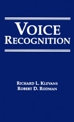 Voice Recognition - Signal Processing Library (Hardback)