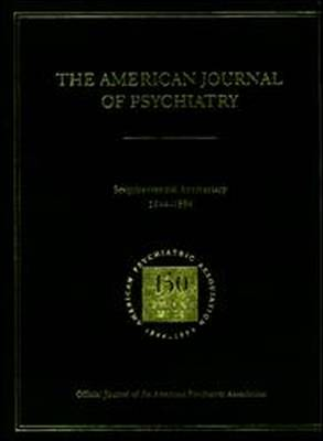 American Journal of Psychiatry 1844-1994 (Hardback)
