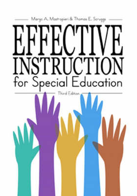 Effective Instruction for Special Education (Paperback)