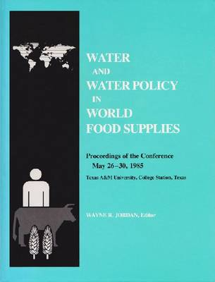 Water and Water Policy (Hardback)