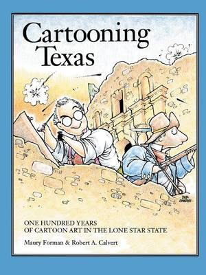 Cartooning Texas (Paperback)