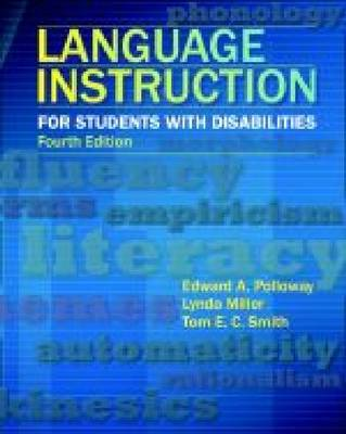 Language Instruction for Students with Disabilities (Paperback)