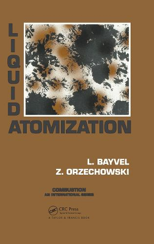 Liquid Atomization (Hardback)