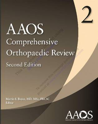 AAOS Comprehensive Orthopaedic Review 2 (Paperback)
