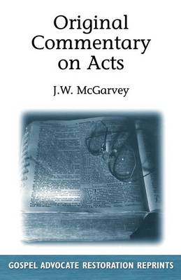 Original Commentary On Acts (Paperback)