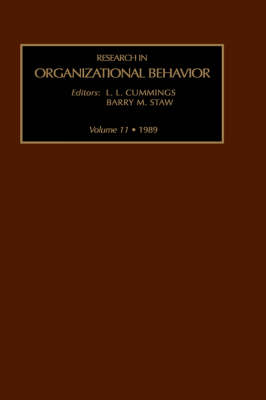 Research in Organizational Behaviour: v. 3 - Research in Organizational Behavior Vol 3 (Hardback)