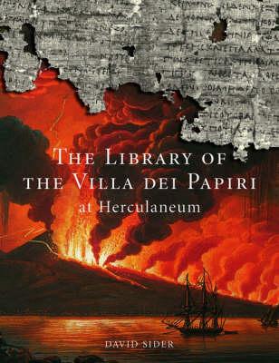 Library of Villa Dei Papiri at Herculaneum (Paperback)