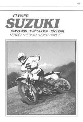 Suzuki Rm50-400 Twin-Shock 75-81 (Paperback)