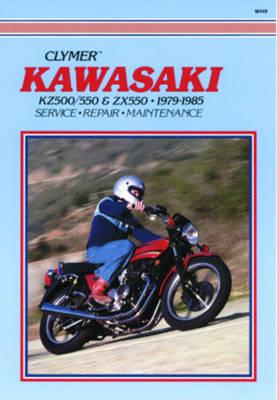 Kaw KZ500/550 & ZX550 79-85 (Paperback)