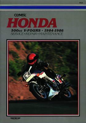 Honda 500cc V-Fours 84-86 (Paperback)