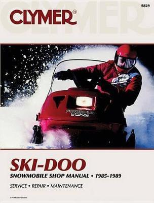 Ski Doo Snowmobile Shop Manual (Paperback)