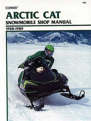 Arctic Cat Snowmobile 88-89 (Paperback)