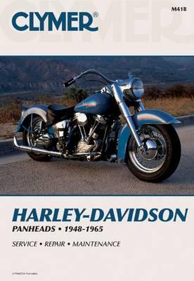 Harley-Davidson Panheads, 1948-1965: Clymer Workshop Manual (Paperback)