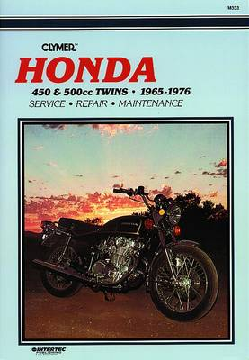 Honda 450 & 500cc Twins 65-77 (Paperback)