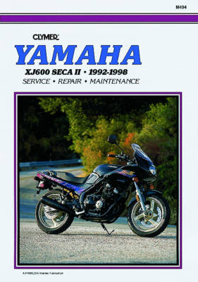 Yamaha XJ600 Diversion 1992-98 (Paperback)